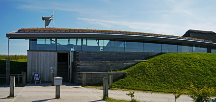 The Visitor Centre at Cley