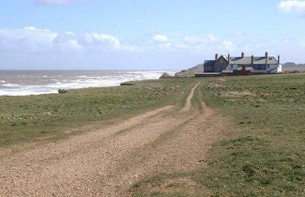 Cliff at Weybourne North Norfolk