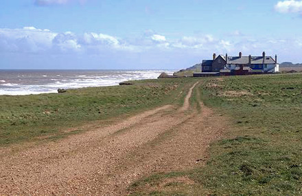 Coastguard Cottages at Weybourne Norfolk