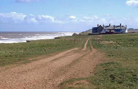 Coastguard Cottages at Weybourne Norfolk