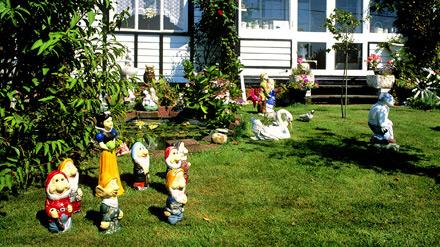 Garden on the Bush Estate Eccles Norfolk