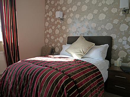 Green House B&B bedroom.