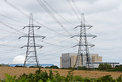 Pylons at Sizewell