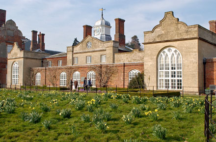 Spring at Felbrigg Hall North Norfolk