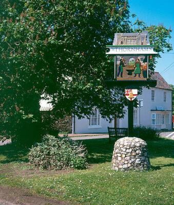 Village Sign THornham North Norfolk