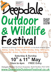 Poster for Deepdale Outdoor & Wildlife Festival
